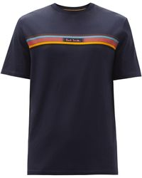 Paul Smith - コットンtシャツ - Lyst