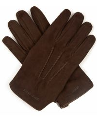 Giorgio Armani - Suede Gloves - Lyst