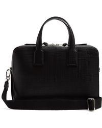 Loewe - Goya Textured-leather Briefcase - Lyst