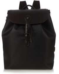 Dunhill - Chassis Leather Backpack - Lyst