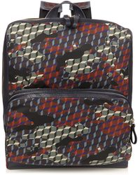 Pierre Hardy - Camocube-print Backpack - Lyst