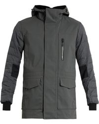 Canada Goose Selwyn Down-filled Hooded Coat - Grey