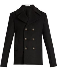 Tomas Maier - Double-breasted Wool-blend Coat - Lyst