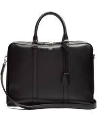 Tod's | Logo-print Leather Briefcase | Lyst