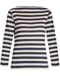 Orcival - Breton-striped Linen Top - Lyst