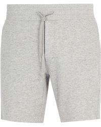 Frescobol Carioca - Straight Leg Cotton Blend Shorts - Lyst