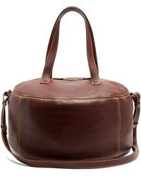 Balenciaga - Air Hobo Medium Leather Tote - Lyst