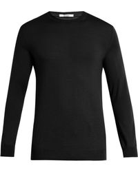 Adam Lippes - Crew-neck Wool Sweater - Lyst