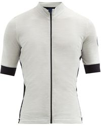 Café du Cycliste Eglantine Cycling Jersey - Grey
