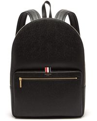Thom Browne - Pebbled Leather Backpack - Lyst