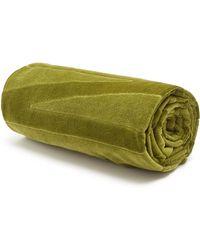 Vilebrequin - Logo-devoré Cotton Beach Towel - Lyst