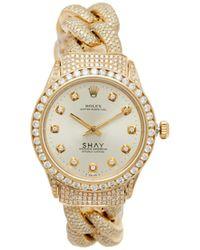 SHAY ダイヤモンド&18kゴールドウォッチ - マルチカラー