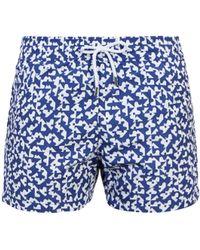 Frescobol Carioca   Sports Formas-print Swim Shorts   Lyst