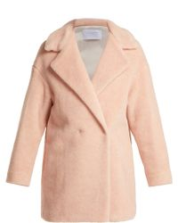 Harris Wharf London - Alpaca-blend Double-breasted Coat - Lyst