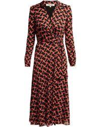 Diane von Furstenberg - Robe portefeuille Phoenix - Lyst