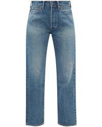 Chimala Selvedge-denim Straight-leg Jeans - Blue