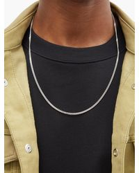 Tom Wood M Curb-chain Sterling-silver Necklace - Metallic