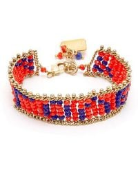 Rosantica By Michela Panero - Love Beaded Bracelet - Lyst