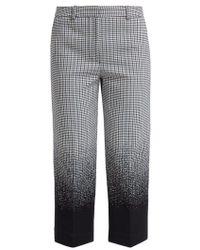 Erdem - Preston Cropped Cotton-blend Trousers - Lyst