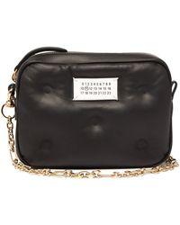 Maison Margiela Glam Slam Mini Quilted-leather Cross-body Bag - Black