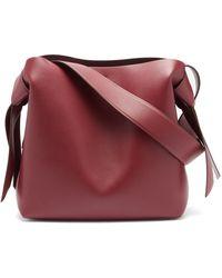 Acne Studios - Musubi Medium Leather Shoulder Bag - Lyst