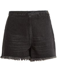 Rachel Comey - Ignite High-rise Raw-edge Denim Shorts - Lyst