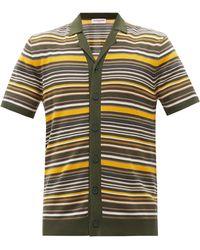 Orlebar Brown コールマン ボーダー コットンシャツ - マルチカラー