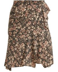 Isabel Marant - Becka Floral-print Skirt - Lyst