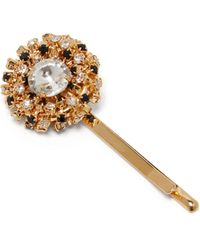 Rosantica By Michela Panero Caos Crystal Embellished Hair Slide - Multicolour