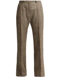 Pallas x Claire Thomson-Jonville Delaunay Prince Of Wales Check Pants - Gray