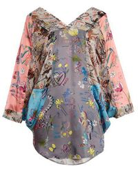 Vivienne Westwood Anglomania - Musa Batwing-sleeve Blouse - Lyst