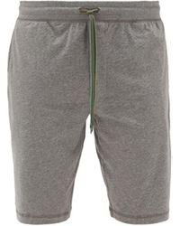 Paul Smith Cotton-jersey Pajama Shorts - Gray