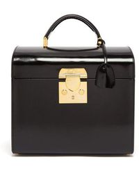 Mark Cross - Sara Leather Beauty Case - Lyst