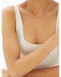 Otiumberg Love 14kt Gold-vermeil Chain Bracelet - Metallic