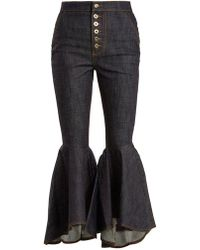 Ellery - Hysteria High-rise Kick-flare Jeans - Lyst