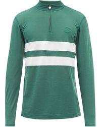 Iffley Road Sweat-shirt en piqué Drirelease Worthing - Vert