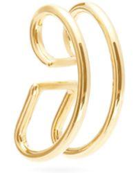 Ana Khouri Jamie 18kt Gold Ear Cuff - Metallic