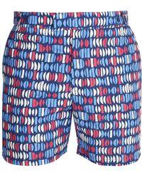 Frescobol Carioca - Tailored Aquarela-print Swim Shorts - Lyst