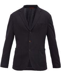Brunello Cucinelli - Single-breasted Wool-piqué Blazer - Lyst