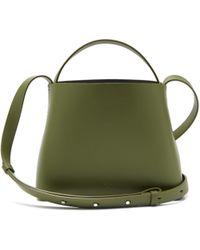 Aesther Ekme - Sac Mini Leather Cross Body Bag - Lyst