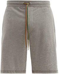Paul Smith Cotton Jersey Pyjama Shorts - Gray