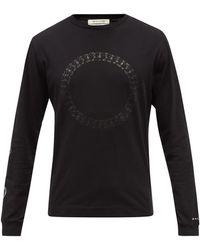 1017 ALYX 9SM キューブチェーンロゴ コットンtシャツ - ブラック