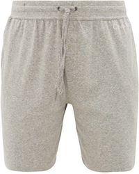 Calvin Klein Logo-print Pajama Shorts - Gray