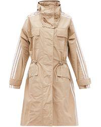 Stella McCartney シェルパーカージャケット - ナチュラル