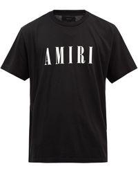 Amiri ロゴ コットンtシャツ - ブラック