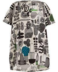 Junya Watanabe - Puutarhurin Parhaat-print Cotton Dress - Lyst