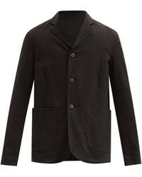 Toogood The Metalworker Cotton-drill Jacket - Black