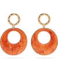 Lizzie Fortunato La Fonda Hoop Drop Earrings - Multicolour
