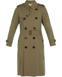 Burberry - Trench-coat à double boutonnage - Lyst