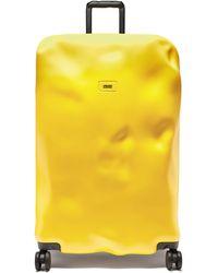 Crash Baggage アイコン スーツケース 79cm - イエロー